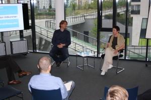 Dagmar und Gebhard beim thinktalk 2015