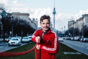 Martin Gaedt auf dem letzten großen Boulevard Europas in Berlin